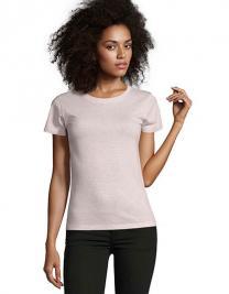 Womens Round Neck Fitted T-Shirt Regent